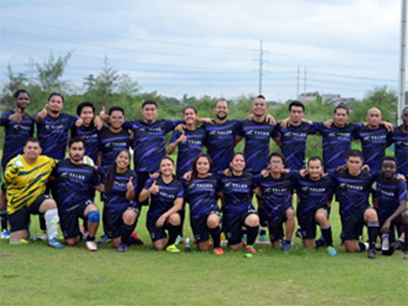ABS-CBN News: TELUS boosts 'work-and-play' culture with own football club