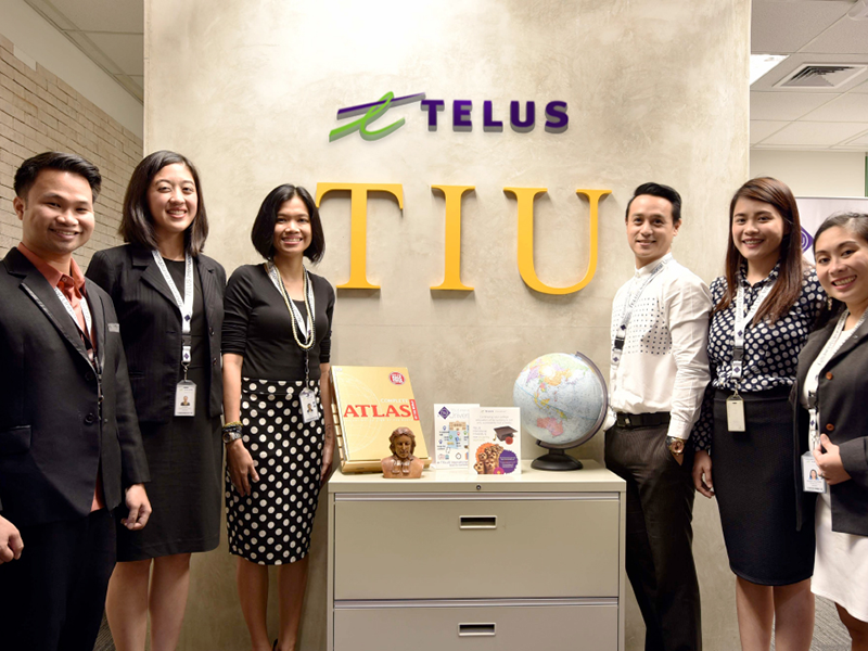 ABS-CBN News: TELUS International University peaks with student successes