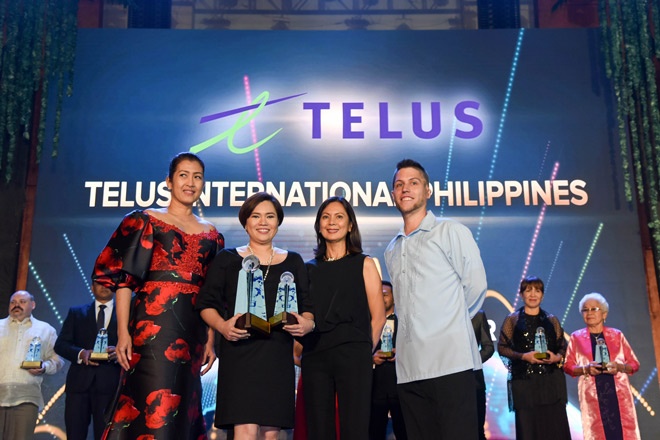 SunStar Manila: TELUS named 'CSR Company of the Year' at Asia CEO Awards 2017