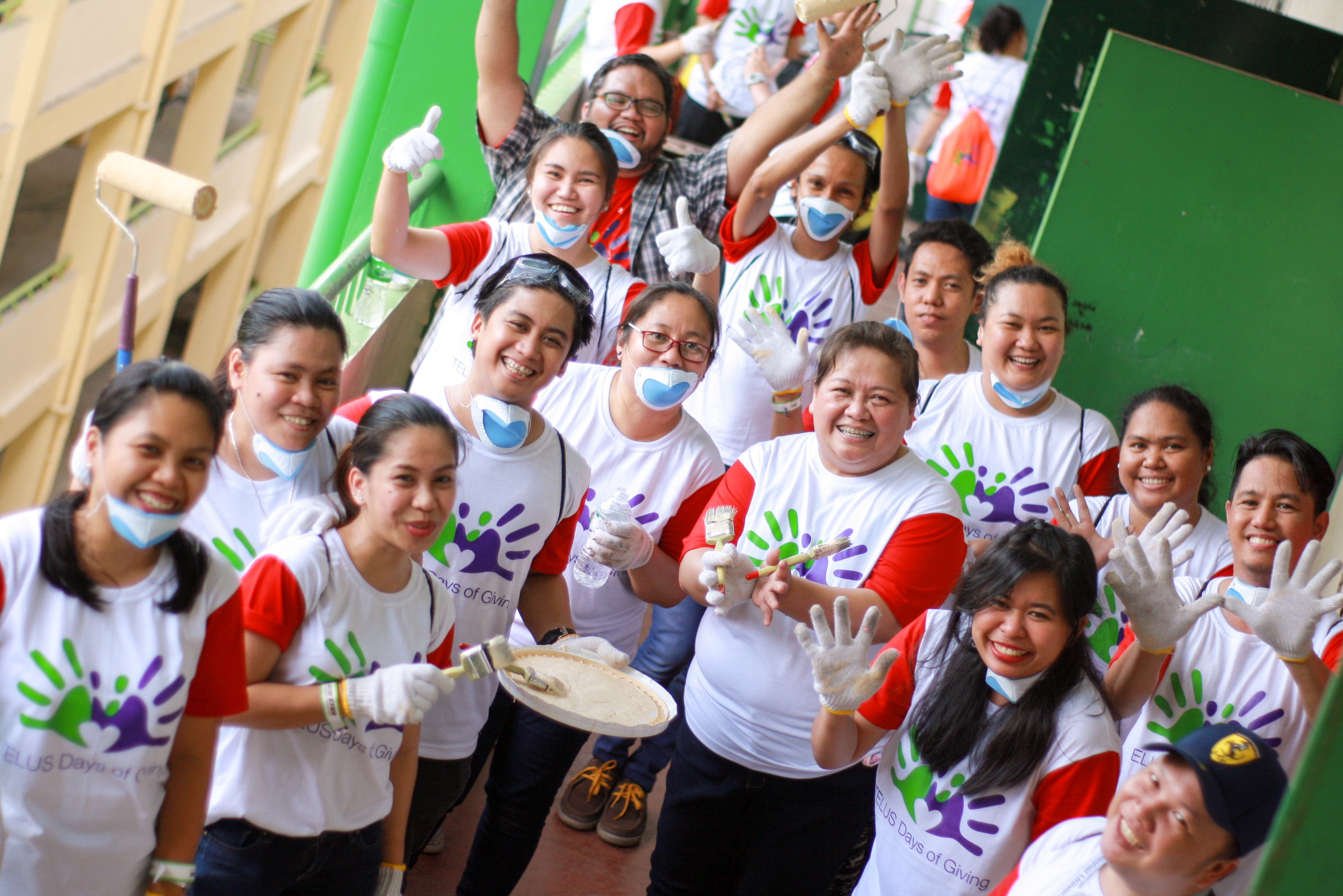 Cultivating a culture of caring: TELUS International Philippines' employees create and sustain a positive impact on communities and the workplace